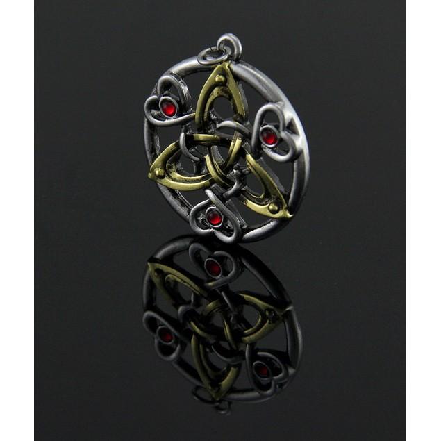 Charm Of Cu Chulainn Pendant / Necklace For Fierce Mens Pendant Necklaces