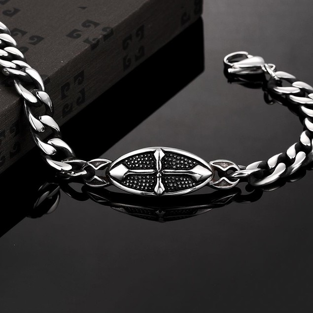Simple Elegance Stainless Steel Bracelet