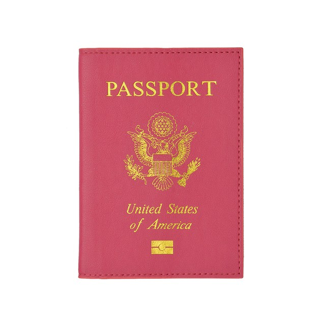 Genuine Leather Passport Cover