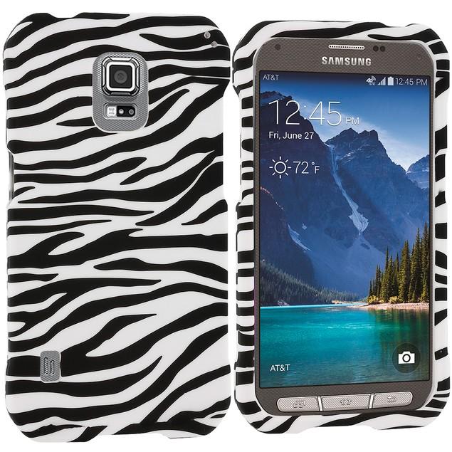 Samsung Galaxy S5 Active Hard Rubberized Design Case Cover