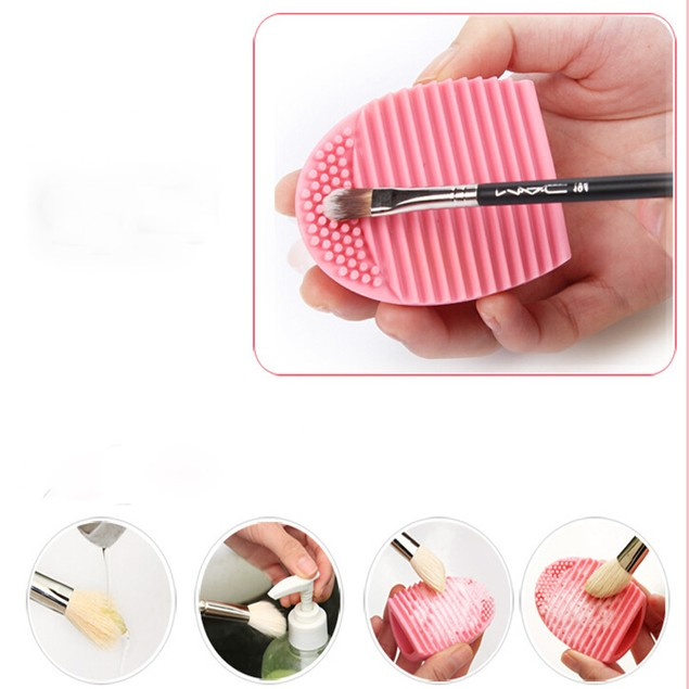 Make-Up Brush Cleaning Egg Tool