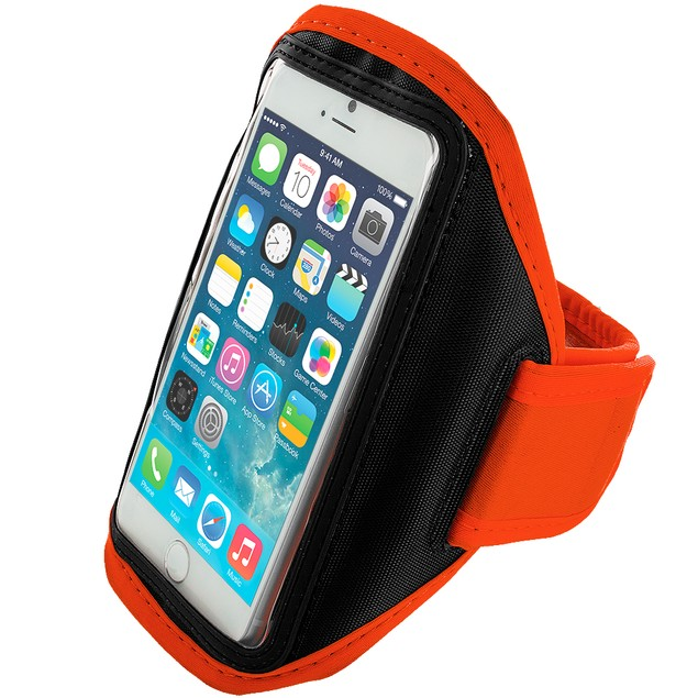 Apple iPhone 6 (4.7) Armband Gym Case Cover Pouch