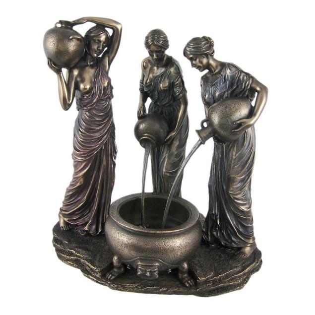 The Danaides Bronze Finish Statue Greek Mythology Statues