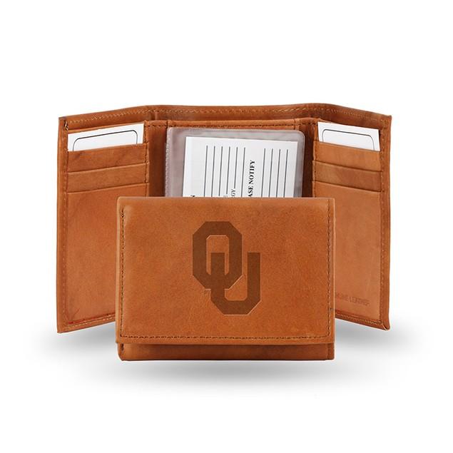 Oklahoma Leather Manmade Trifold