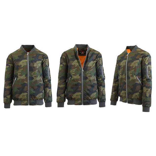 Men's Lightweight MA-1 Bomber Flight Jacket