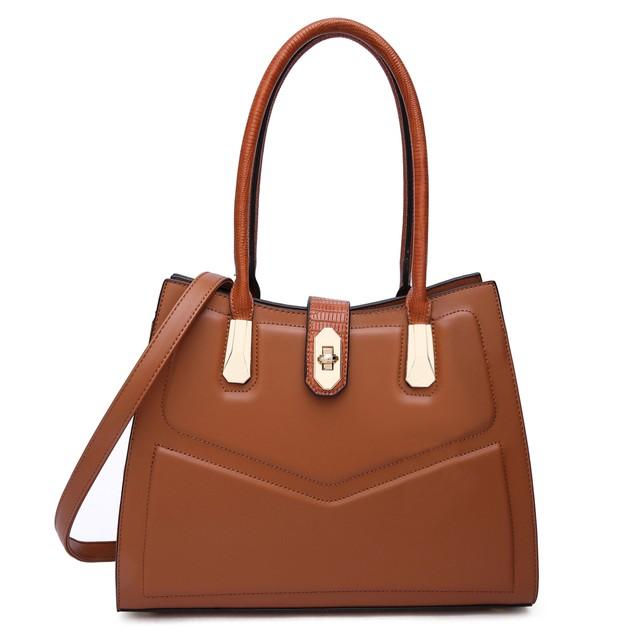 MKF Collection Posh Satchel Bag by Mia k Farrow