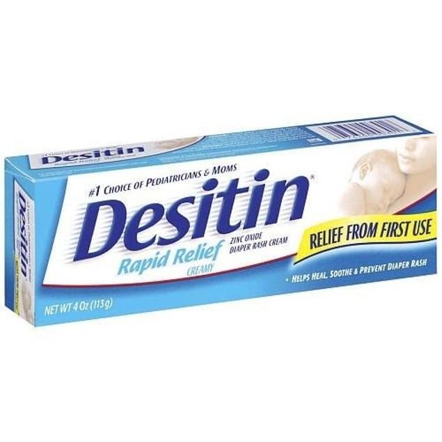Desitin Rapid Relief Diaper Rash Cream 4 oz