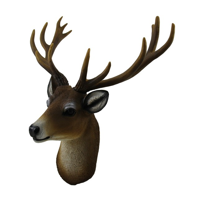 Buck Horns Amazing Antlers Wall Mounted Trophy Wall Sculptures