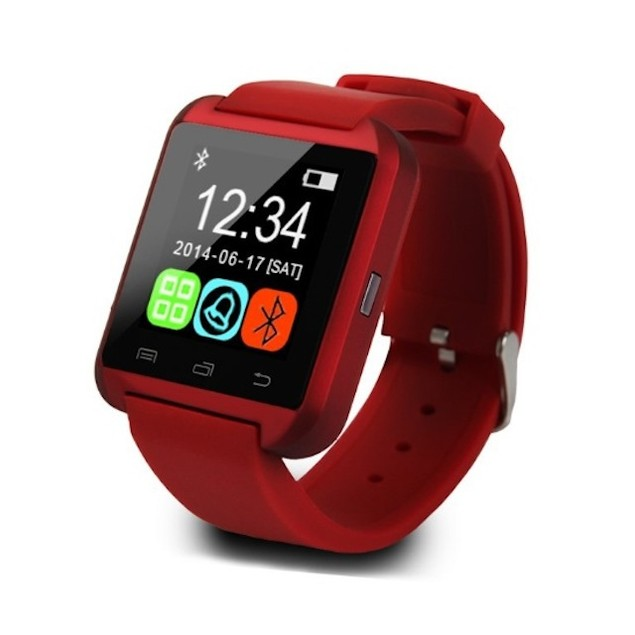 Bluetooth Silicone Smart Watch for iOS & Android