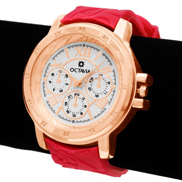 Octavia Giselle Watch - Red