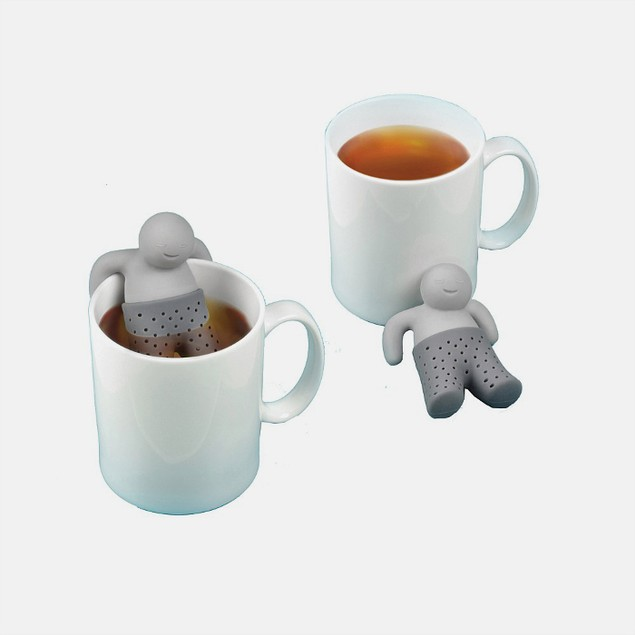 3-Pack Fred and Friends MISTER TEA Tea Infuser