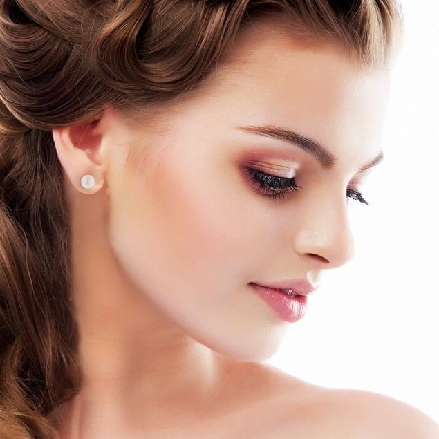 7mm Cultured Pearl Stud Earrings