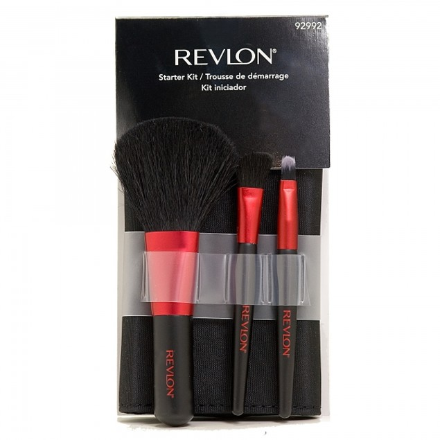 Revlon Premium Starter Brush Kit with Travel Case