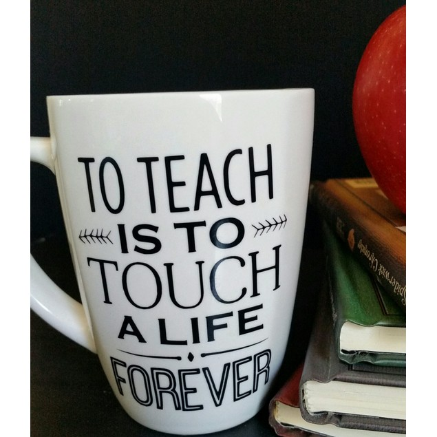 Personalized To Teach Is to Touch a Life Mug