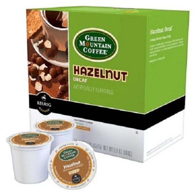 Green Mountain Coffee Hazelnut Decaf Keurig K-Cups