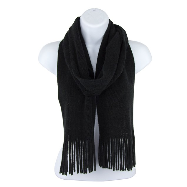 Jack & Missy Fringed Knit Scarf- Assorted Colors