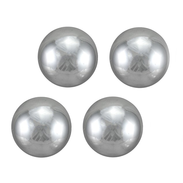 Set Of 4 B Quality Decorative Balls Metallic Decorative Fruit And Balls