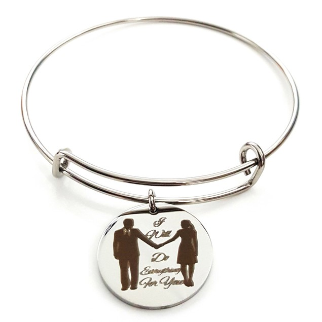 I Will Do Everything For You Stainless Steel Bangle