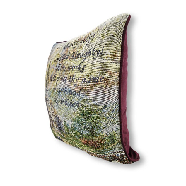 Woven Tapestry Holy Holy Holy Decorative Throw Throw Pillows
