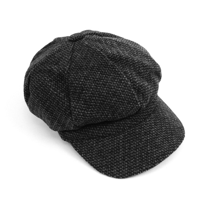 Fall/Winter Unisex British Newsboy Barleycorn Beret Style Cap