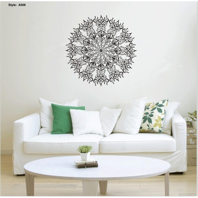 Mandala Wall Art Decals - Assorted Styles