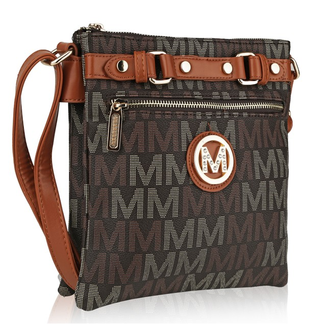 MKF Collection Polly Milan M Signature Cross body by Mia k. Farrow