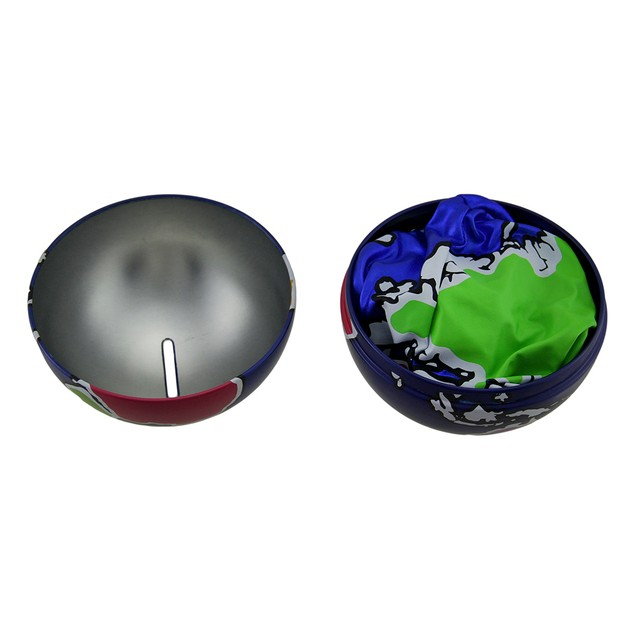 Y'all Ball Earth Bank N Ball Navy Blue 8 Inches Toy Banks