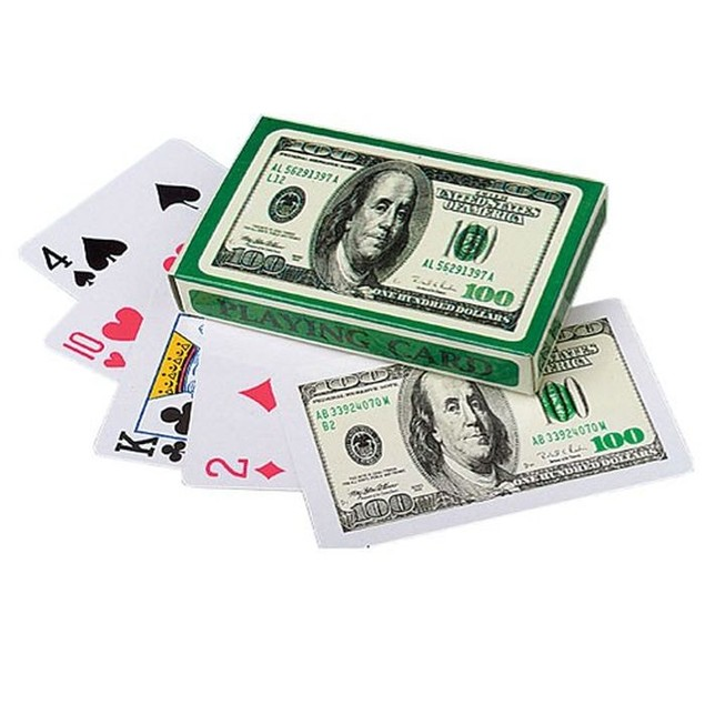 3-Pack $100 Playing Cards
