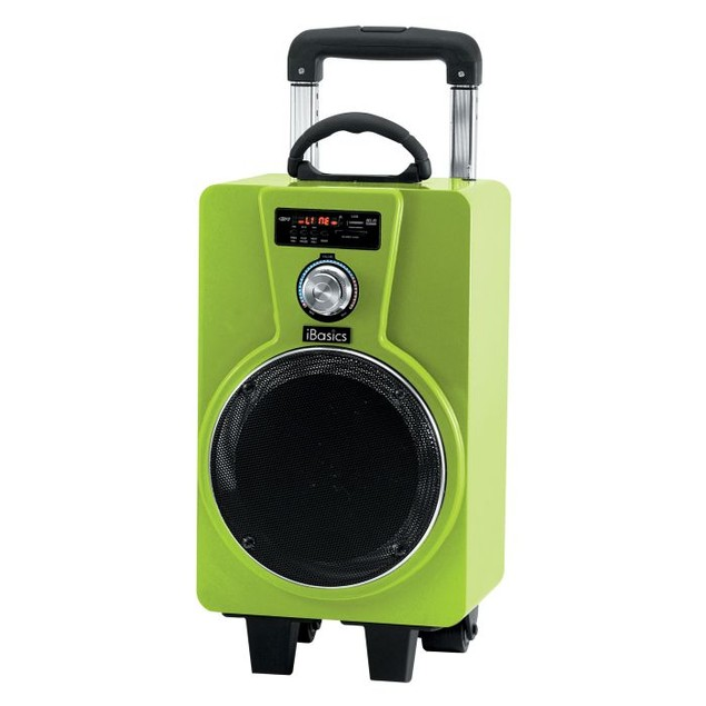 iBasics Portable Tailgate Party Speaker with Mic