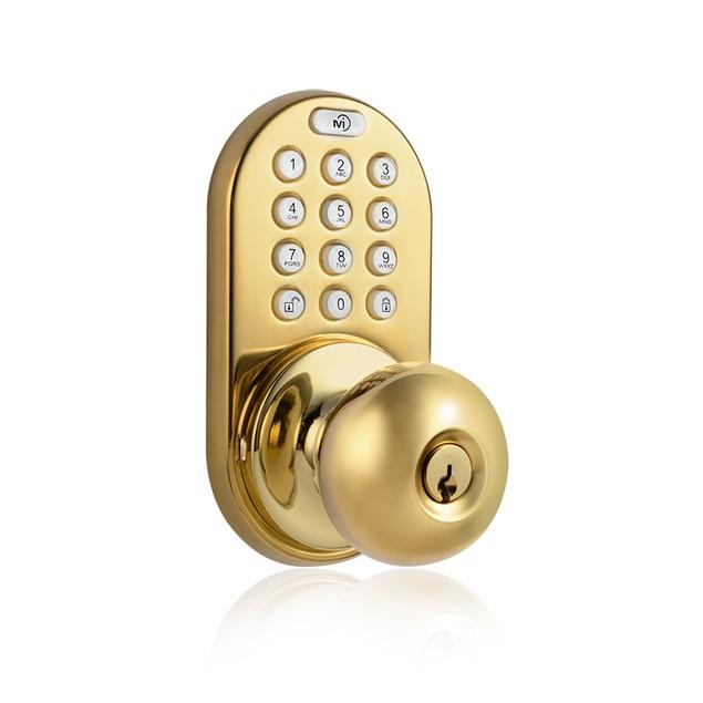 MiLocks Electronic Keypad & Key Entry Door Knob