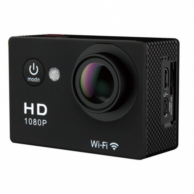 1080P HD Sports Action Camera + FREE Accessory Bundle