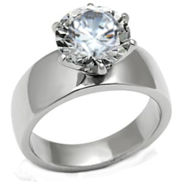 6.58 Ct Ladies Solitaire Wedding Engagement Ring