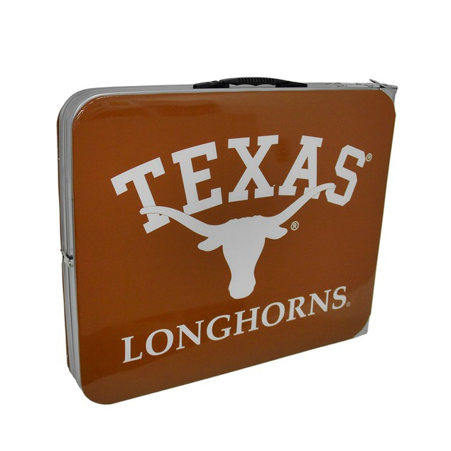 University Of Texas Longhorns Folding Aluminum Fan Shop Tailgating Tables