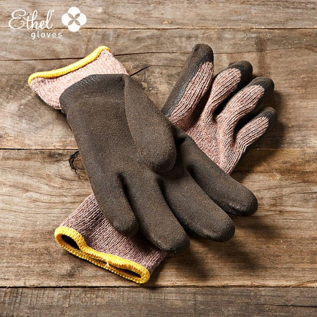 2-Pairs Ethel by Mechanix Wear Women's Knit Dipped Garden Glove
