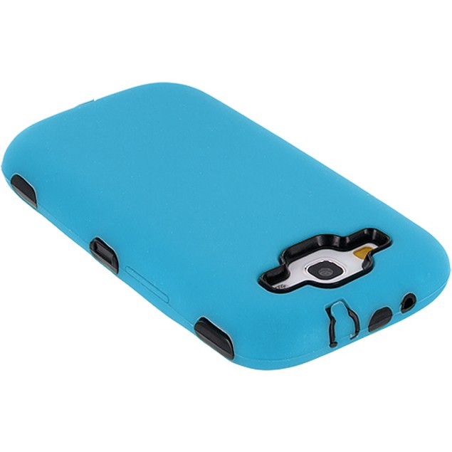 Samsung Galaxy S3 9300 Hybrid Deluxe Hard Soft Case Cover