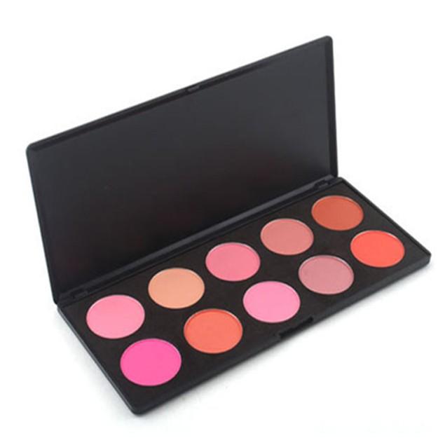 10 Color Blush Palette