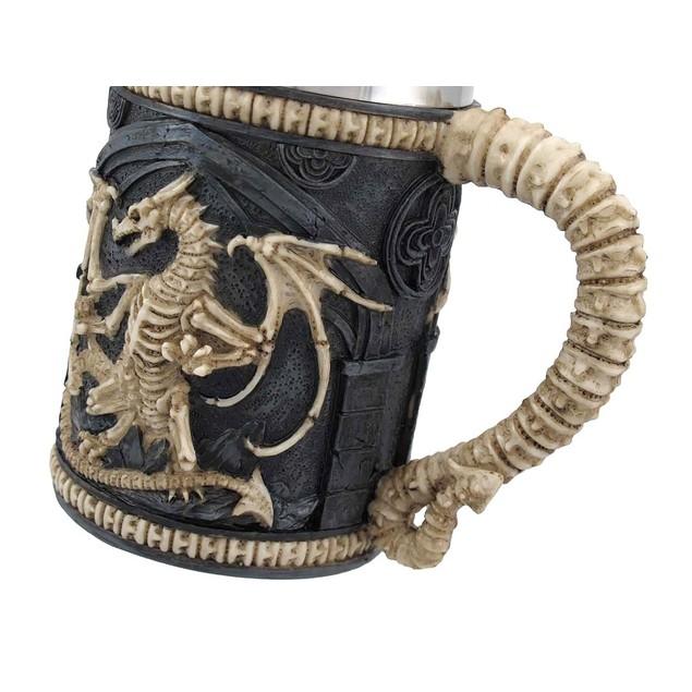Dragon Skeleton Tankard 16 Oz.  Mug Beer Mugs