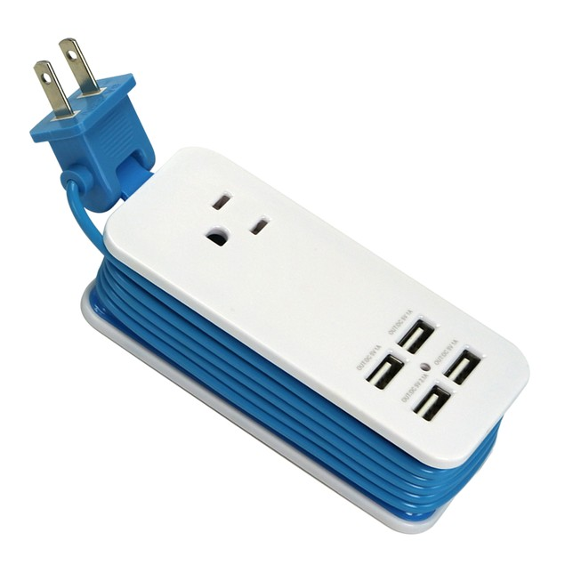 4200 MaH 4 Port USB Charging Station & Universal Power Socket