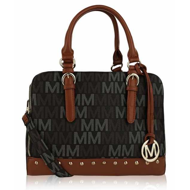 MKF Collection Fancy Marie M Signature Tote by Mia K. Farrow