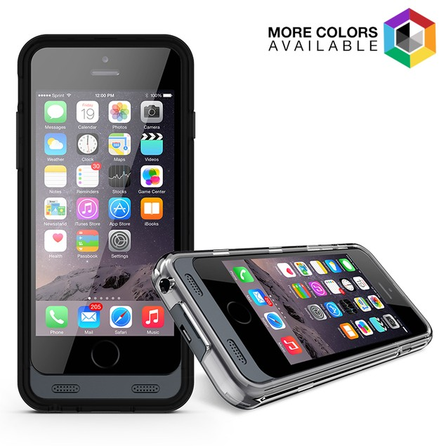 iPhone 6 Power Charger Case - 2 Color Frames