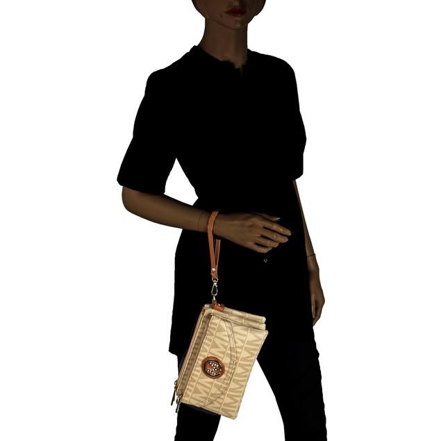 MKF Collection Caprice M Signature Cross-body Bag by Mia K. Farrow
