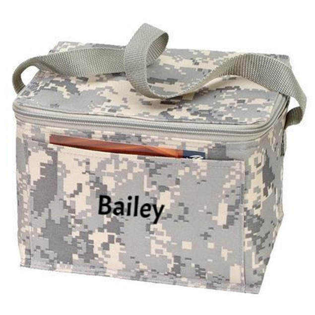 Personalized Digi Camo 6-Pack Cooler Bag / Lunch Bag