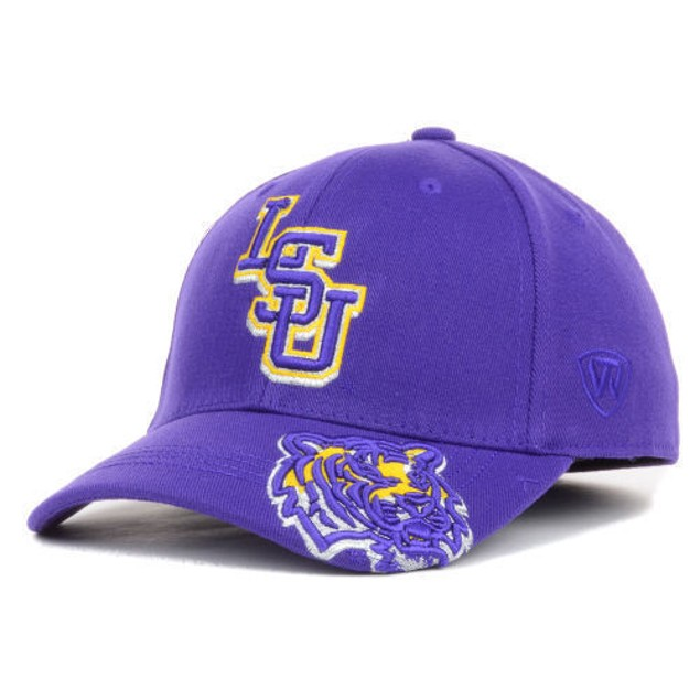 """LSU Tigers NCAA TOW """"Shimmering"""" Stretch Fitted Hat"""