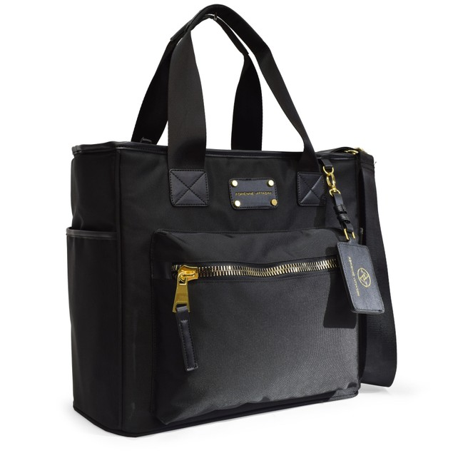 Nylon Tote Bag With Laptop Sleeve By Adrienne Vittadini
