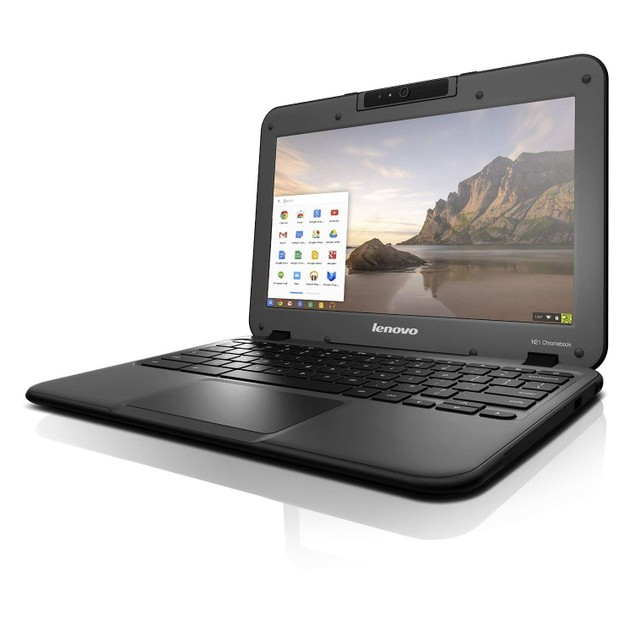 "Lenovo N21 11.6"" Chromebook Laptop, Intel Dual-Core, 16GB SSD"