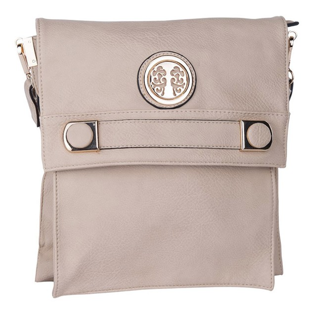 MKF Collection Elegant Flip-Top Crossbody Bag by Mia K Farrow