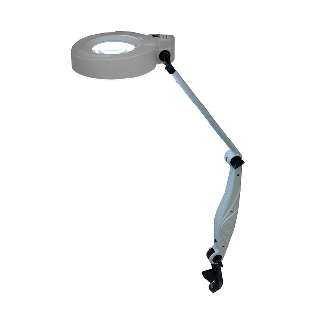Lumiram Comfort View Color Balanced Clamp On Table Lamps