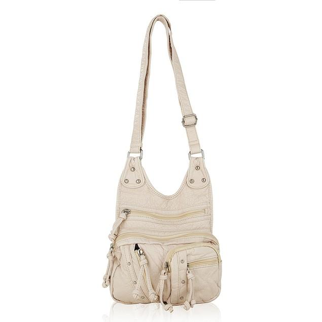 MKF Collection Travelocity Crossbody Shoulder Bag by Mia K Farrow