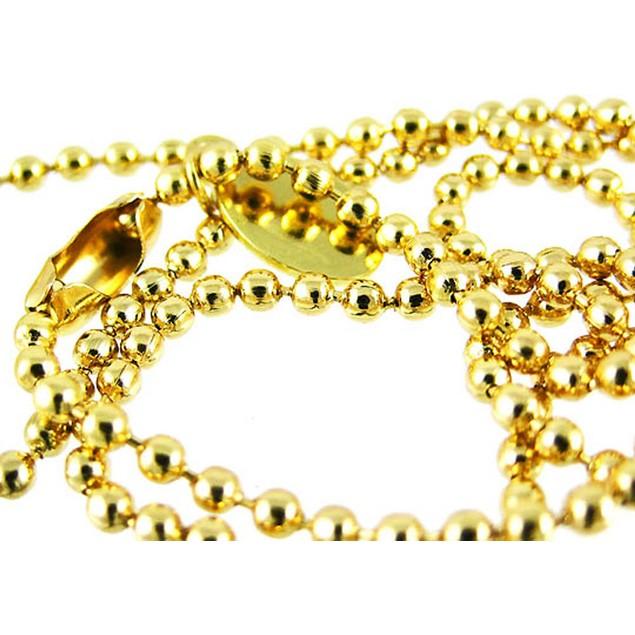 Goldtone Rhinestone Clover Key Pendant W/ Bead Mens Pendant Necklaces