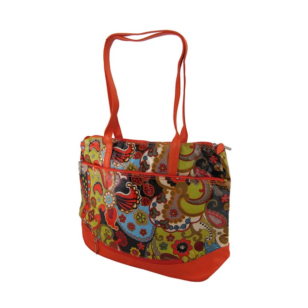 Hadaki Hannah's Tote Paisley Print Oversized Bag Womens Tote Bags